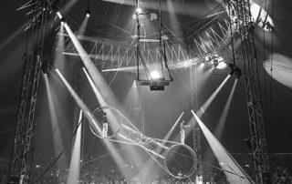un numéro de cirque